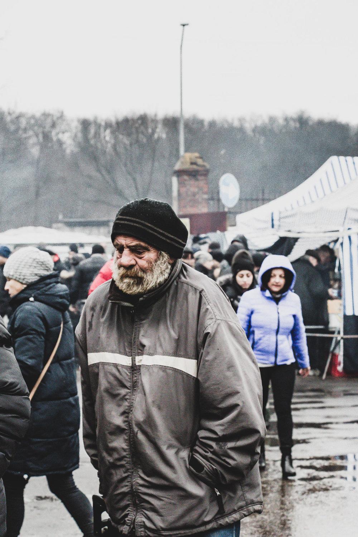 Homeless in Poznan