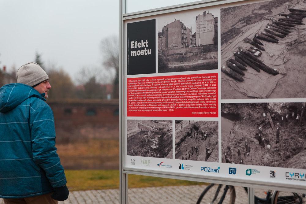 Tourist in Poznan