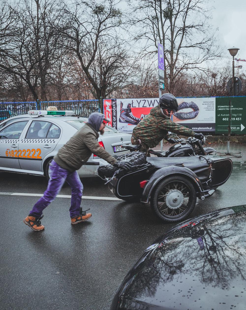 Racing in Poznan