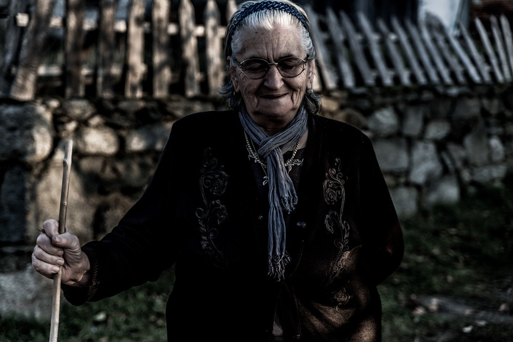 The grandmother of Agios Germanos in Prespes