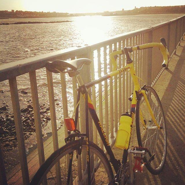 The wheels... #raleigh #raleighbanana #steelisreal #bike #bicycle #morningride #bestwaytostarttheday #bike #bikelife #bikeride #bicyclesofinstagram #vintageroadbike #vintageroadbikes #tinpony #tinponycc #enjoytheride #oldbike #retrobike #cyclingshots