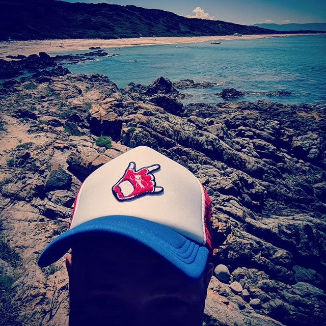 Beach or bike #alwaysradical #cyclewearforhumans #cycling #truckerhat