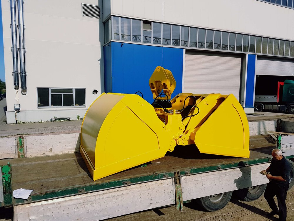 BLESTE Hydraulic dual scoop grab БЛЕСТЕ гидравлический двух челюстной грейфер (8).jpg