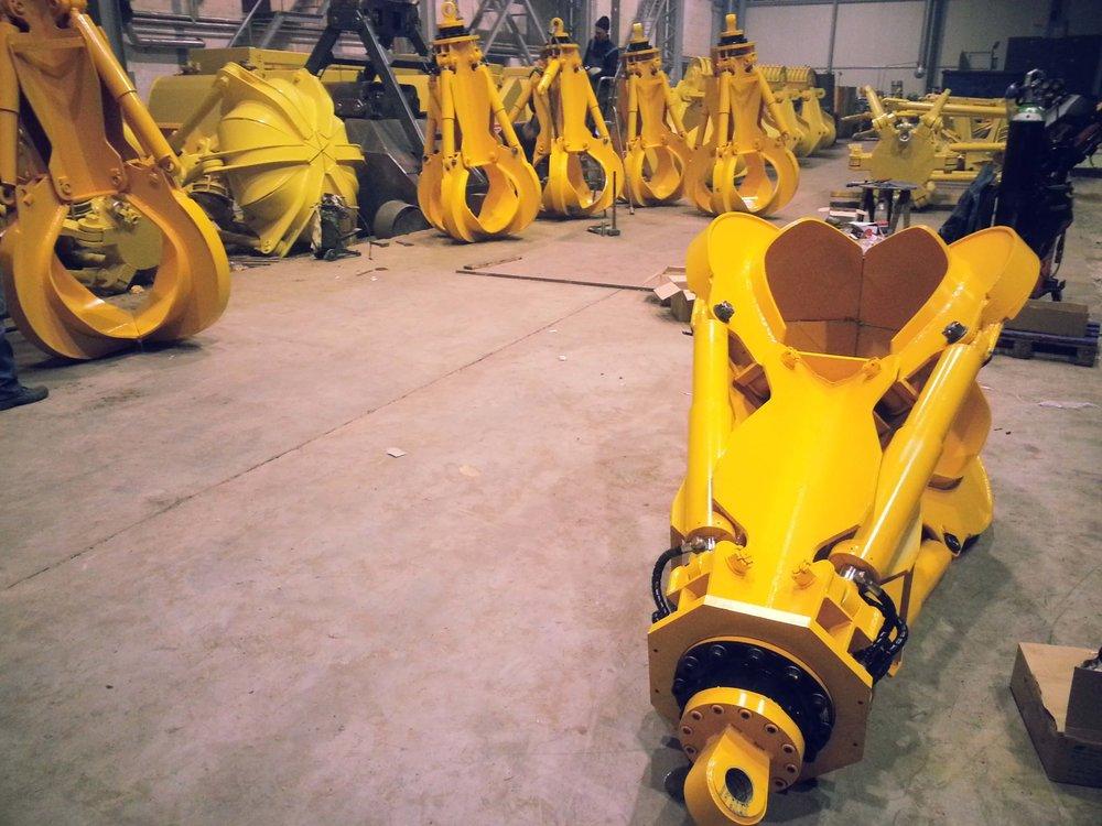 BLESTE Orange-Peel hydraulic grab БЛЕСТЕ гидравлический многочелюстной грейфер (1).jpg