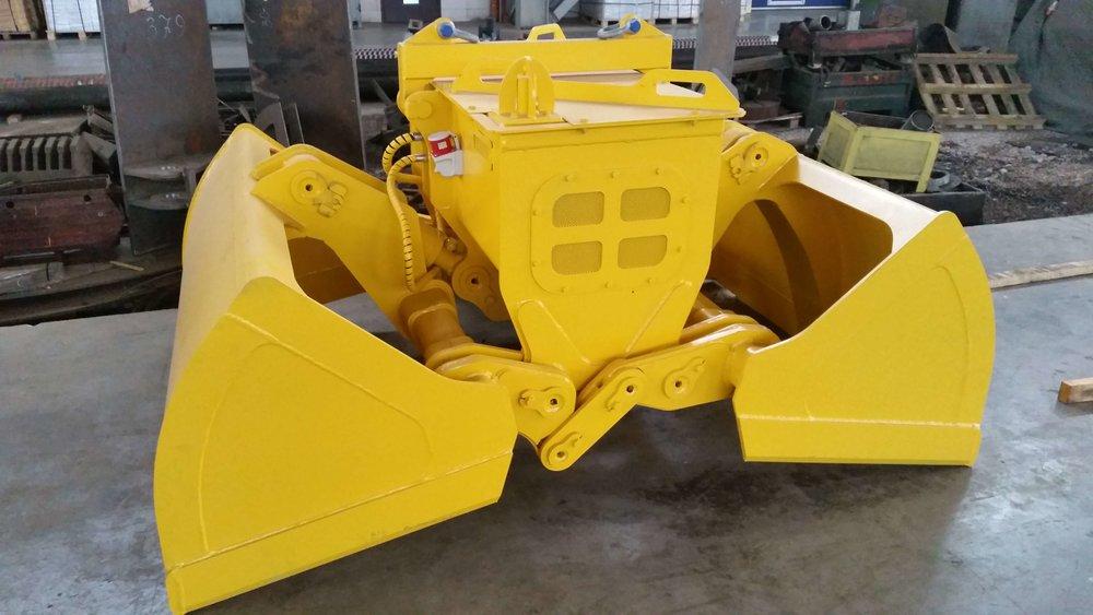 Bleste Diesel Electro-hydraulic grab Блесте дизель электро гидравлический грейфер (2).jpg