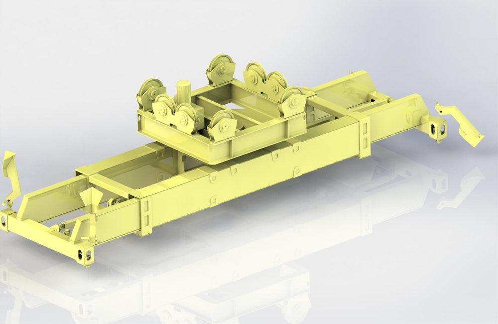 BLESTE Automatic Container Spreader Блесте автоматический спредер контейнерный захват.JPG