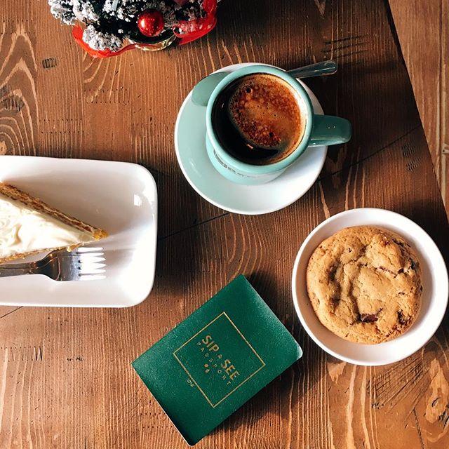 @ubeancoffee-ий кофе, бялуу үнэхээр тасархай 😊Паспортоо ашиглаад найздаа бас жигнэмэг аваад өгчихлөө кк ❤️ #ubpassport #sipnsee