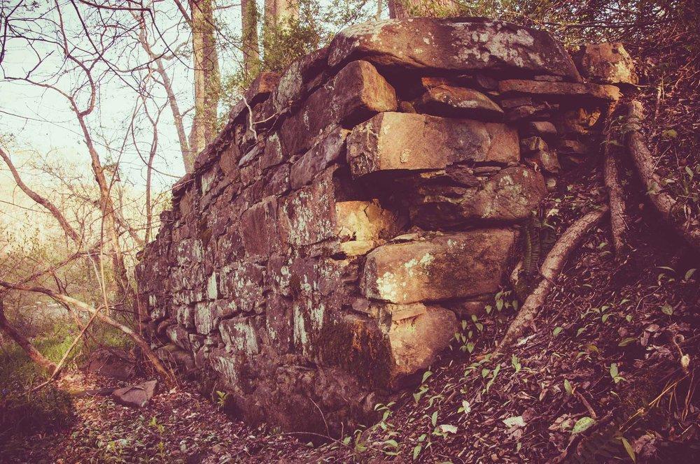 Damn Abutment ruin, Long Calm section of The Great Gunpowder Falls