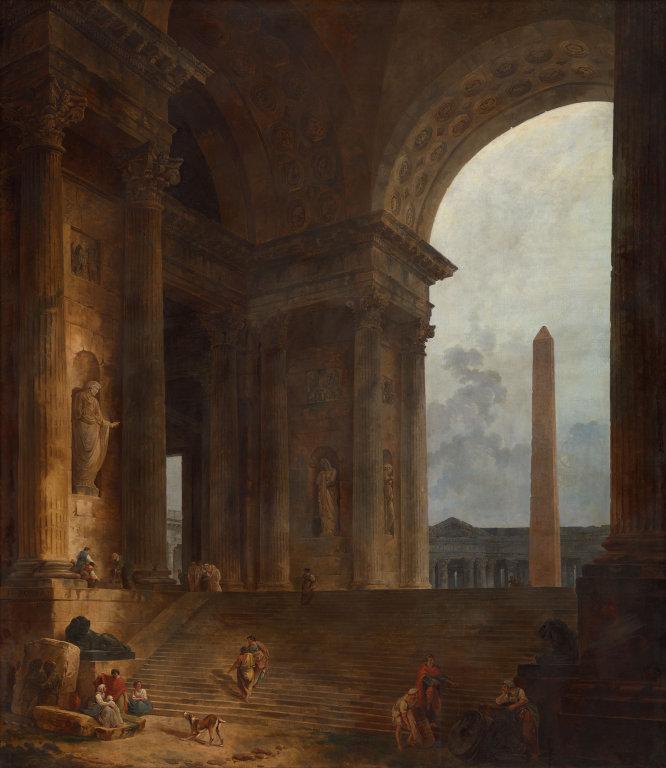 The Obelisk Hubert Robert, 1783