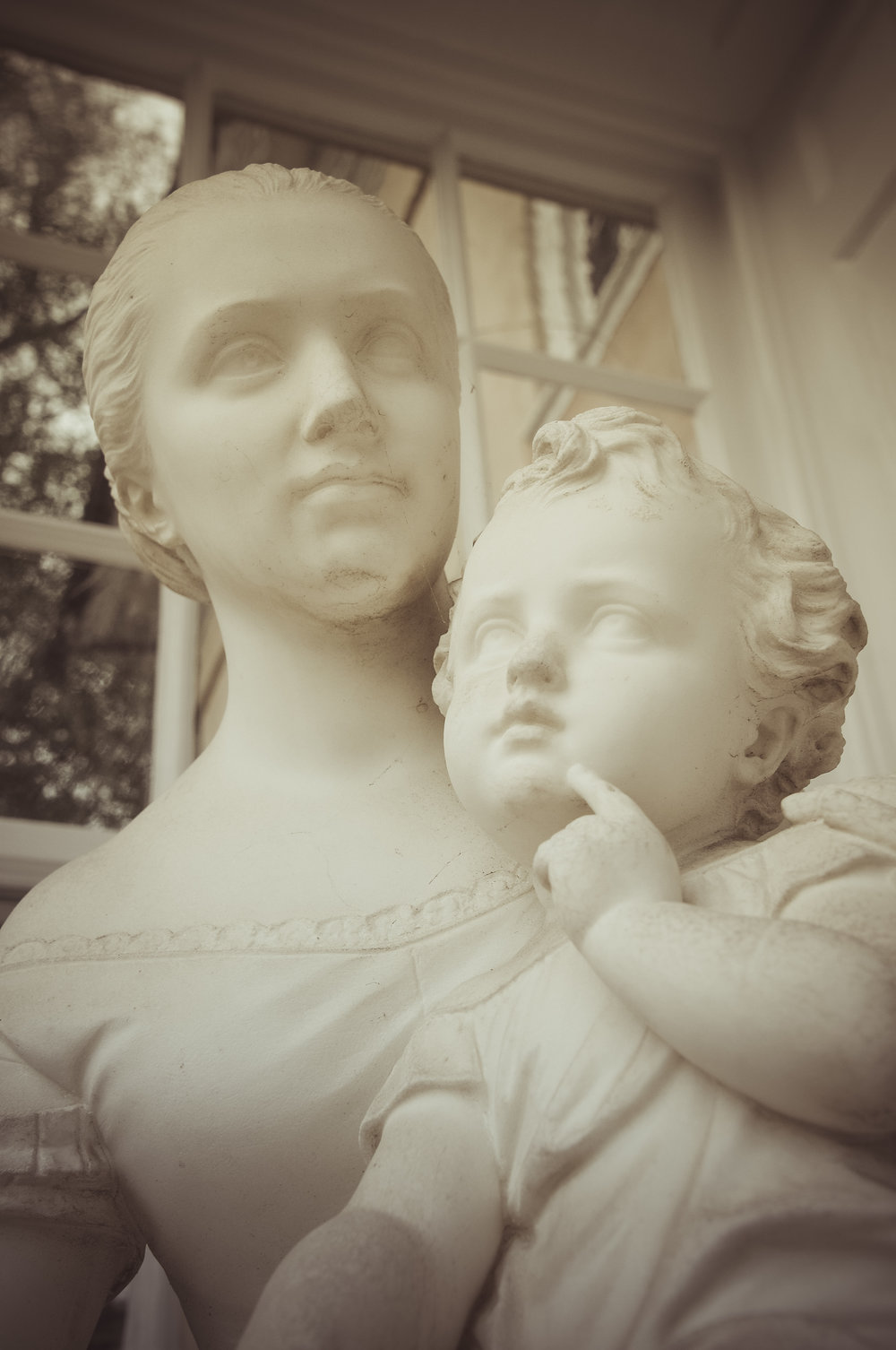 White Madonna (Statue at Hampton Plantation) Photo: Rose Anderson, 2018