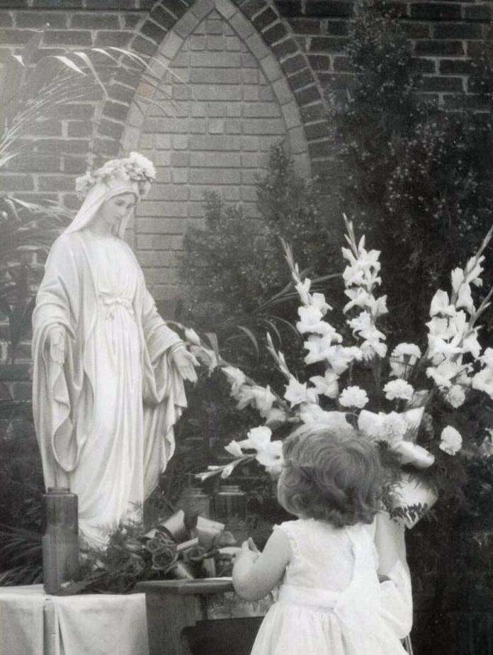 Family member of Rose Anderson, circa 1956
