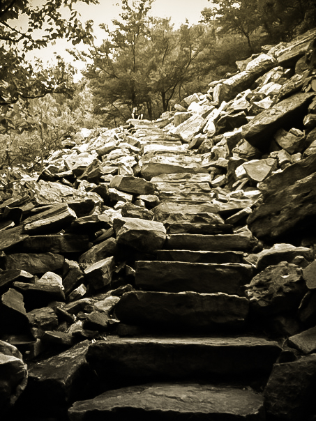 The Thousands Steps, Huntingdon, PA Photo: Rose Anderson