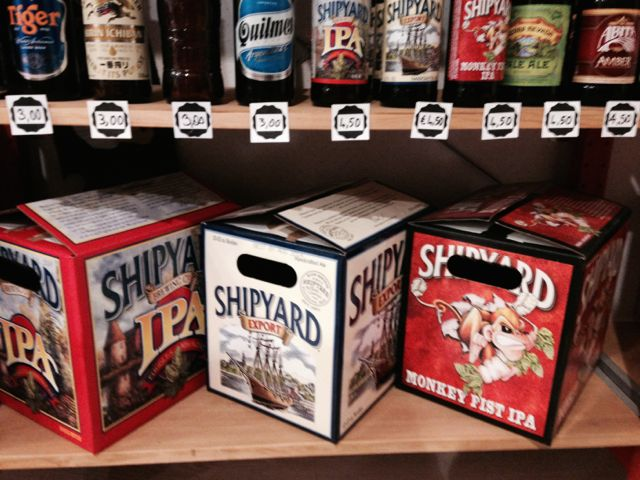 Lots of Shipyard at Birra a Porter.jpg