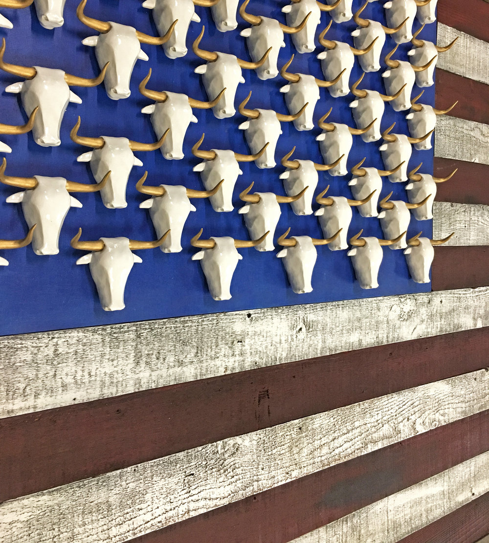 Bull American Flag - 51
