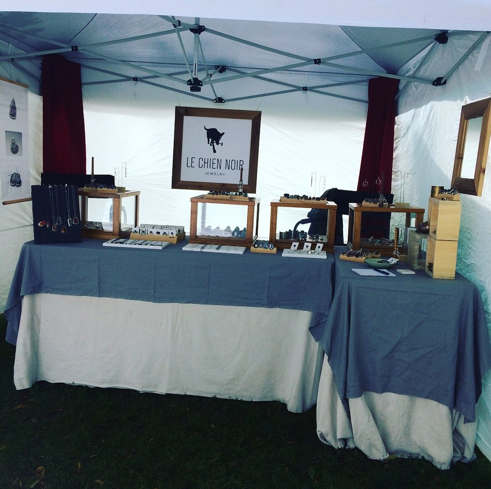 My tent at Cabbagetown Arts & Craft 2017