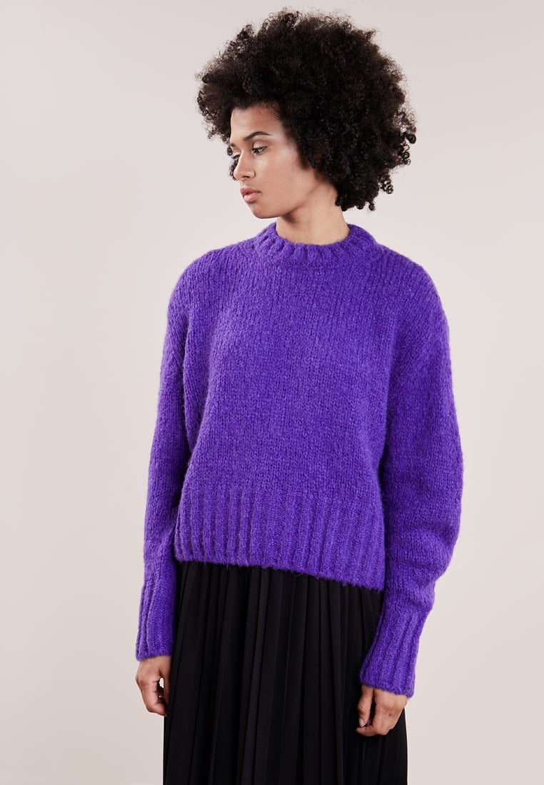 purple jumper zalando pantone ultra violet 2018 color of the year Rhoyally Chic UK style blogger
