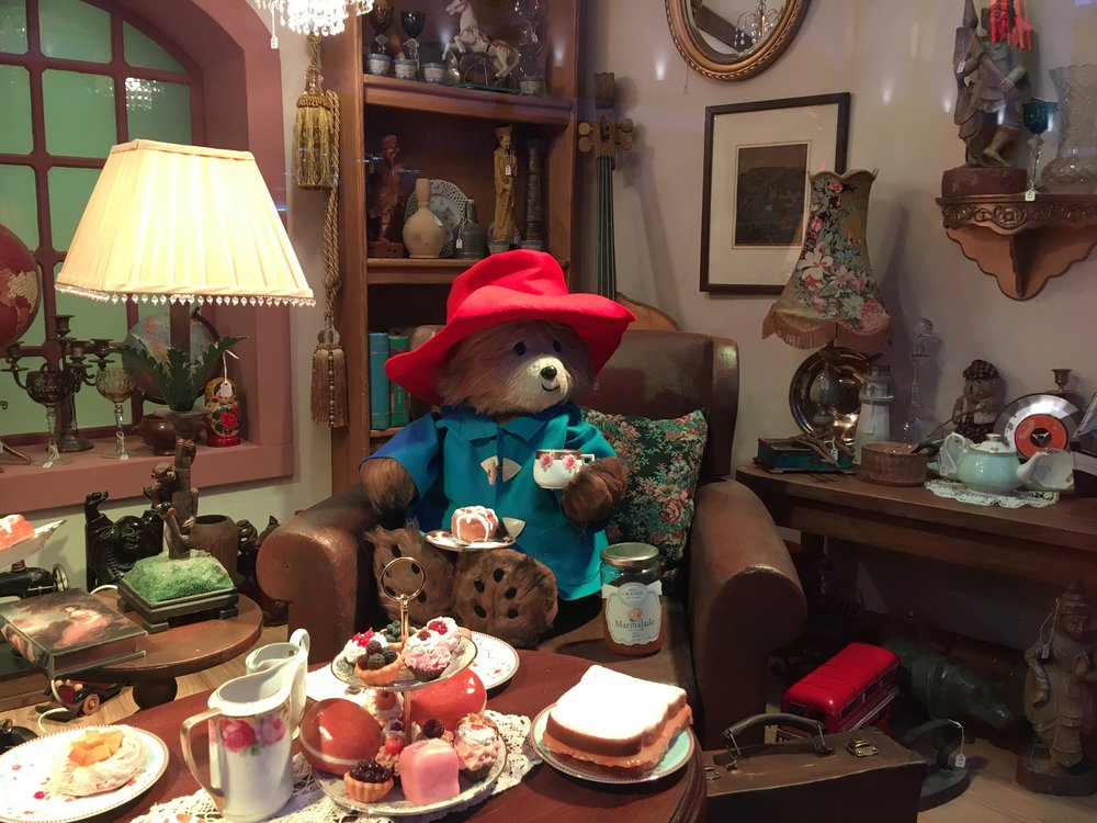 Paddington Bear Fenwick Department Store Christmas Window Rhoyally Chic UK Style Blogger