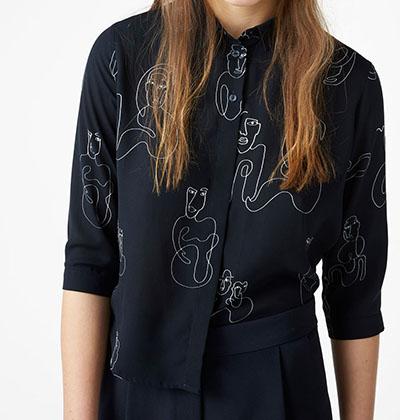 Monki Doodle Trend Shirt