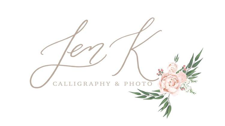 Jen K Calligraphy