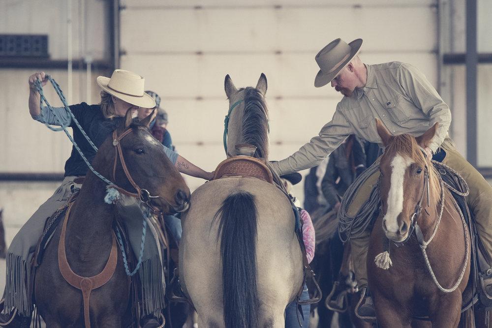 Trina Campbell's Horsemanship - - October -