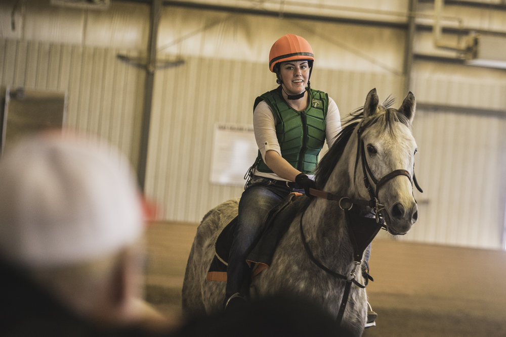 Presentation Day at OIds College hosted by Horse Racing Alberta - - March -