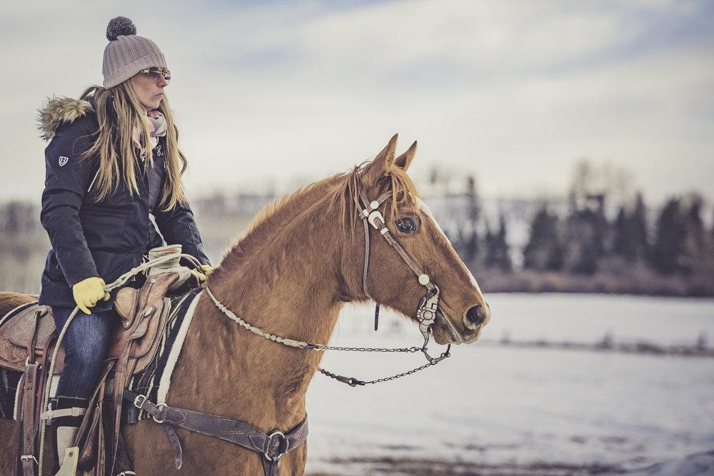 Skijoring Practice - - January -