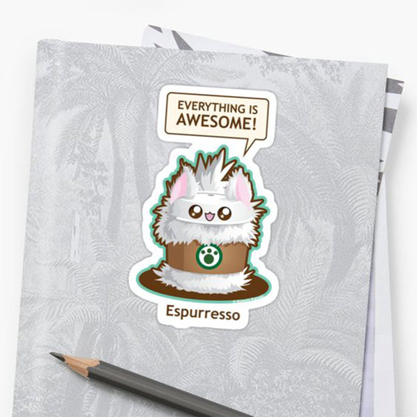 Espurreso Stickers   on Redbubble  Starting at $2.50