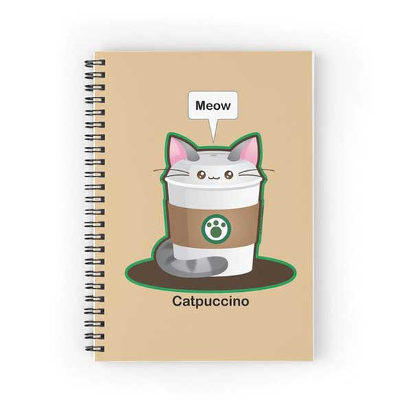 Catpuccino Notebook   on Redbubble  Starting at $12