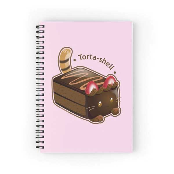 Torta-shell Notebook   on Redbubble  Starting at $12