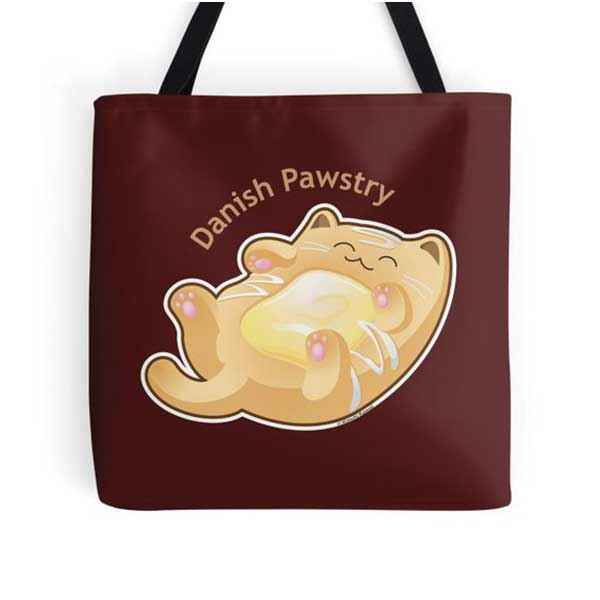 Danish Pawstry Totes   on Redbubble  Starting at $16.00