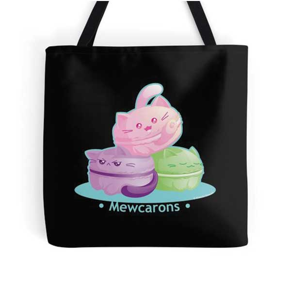 Mewcarons Totes on Redbubble Starting at $16.00
