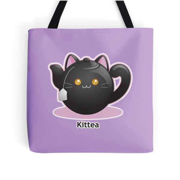 Kittea Totes   on Redbubble  Starting at $16.00