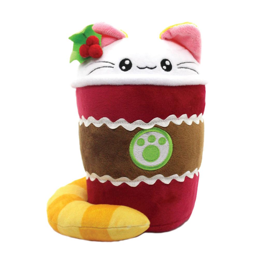 Giant Shark Plush, Gingerbread Latte Christmas Cat Cute Plush Kimchi Kawaii