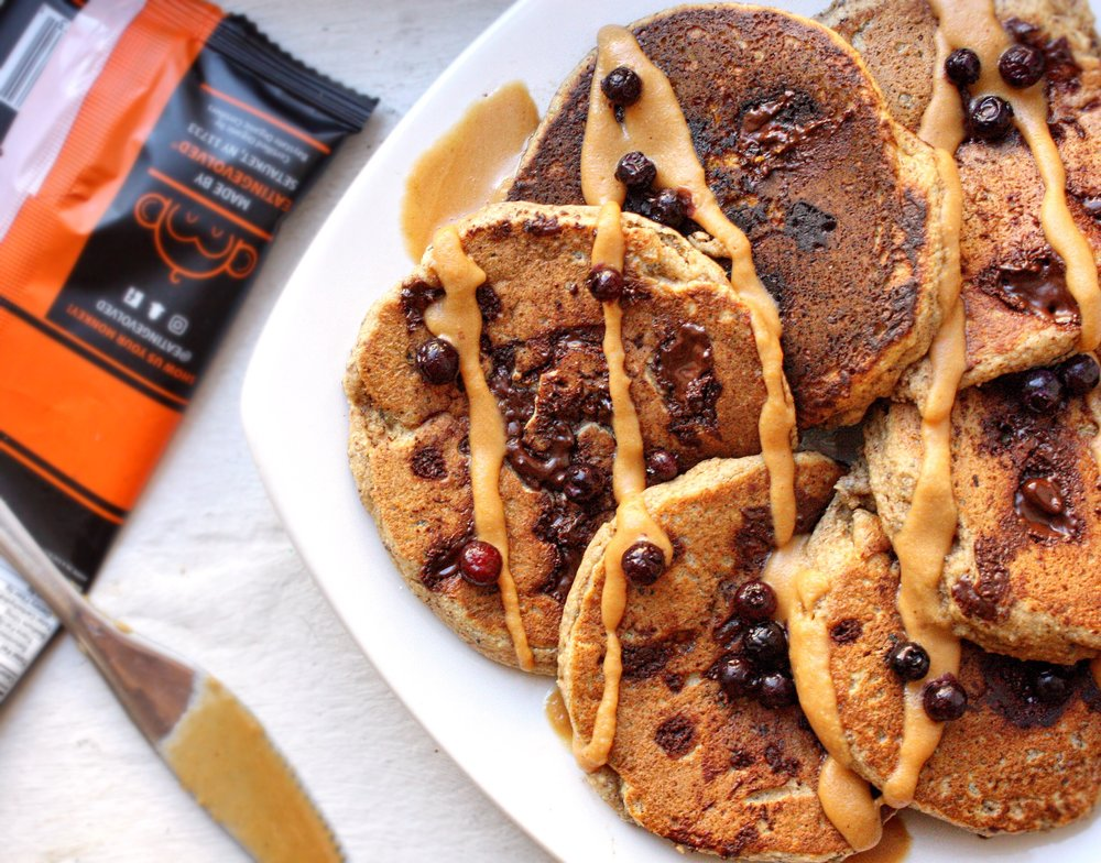 Chocolate Chunk Pancakes