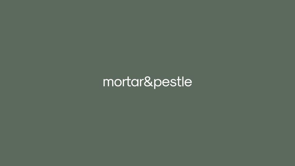 Mortar&Pestle — Branding
