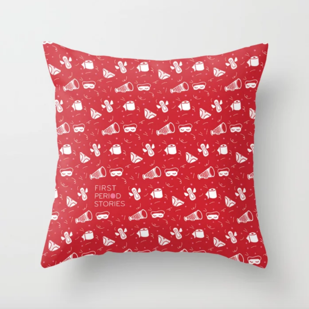 Period Pattern Throw Pillow - $29.99 - $49.99
