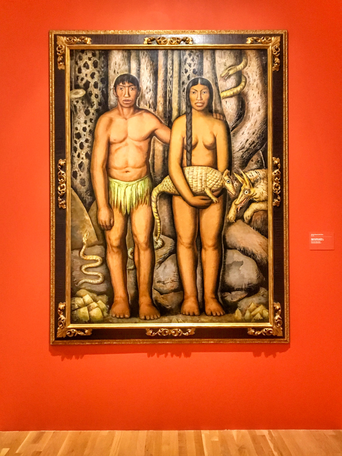 Alfredo Ramos Martínez, Mexican Adam and Eve, 1933