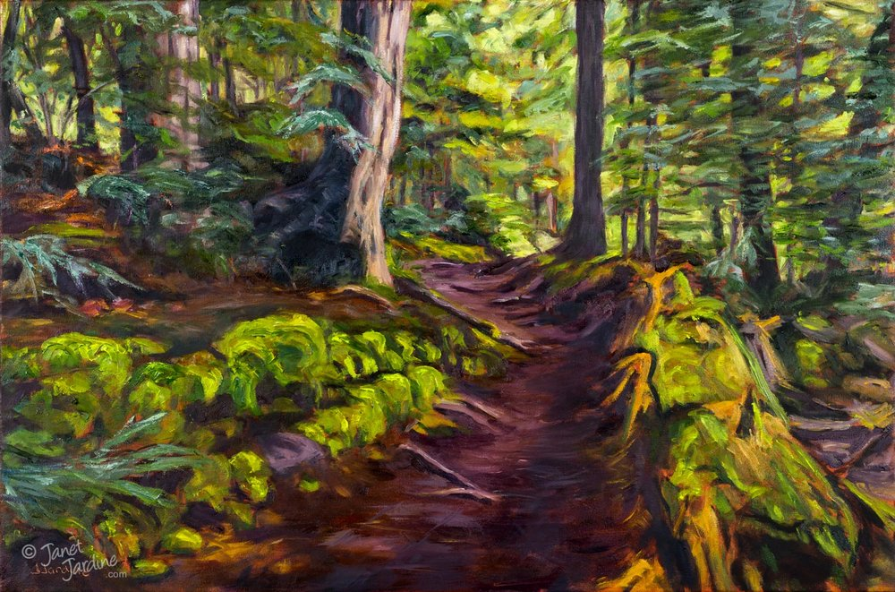 The Winding Path