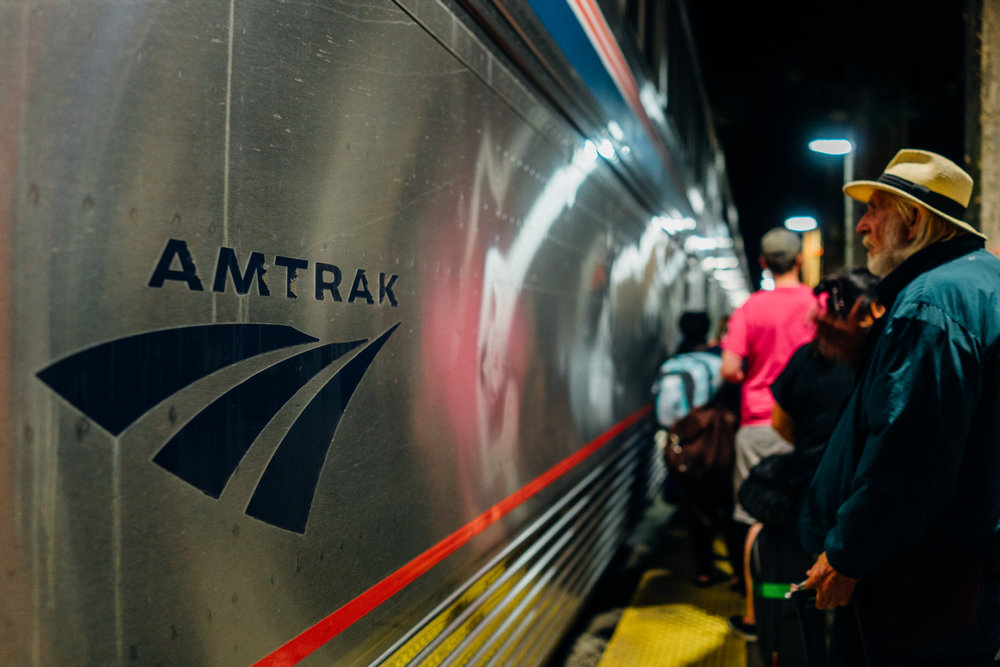 Boarding Amtrak 5 at Chicago Union Station