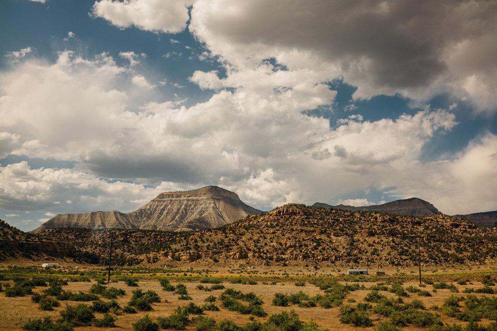 Past the Rockies in Colorado