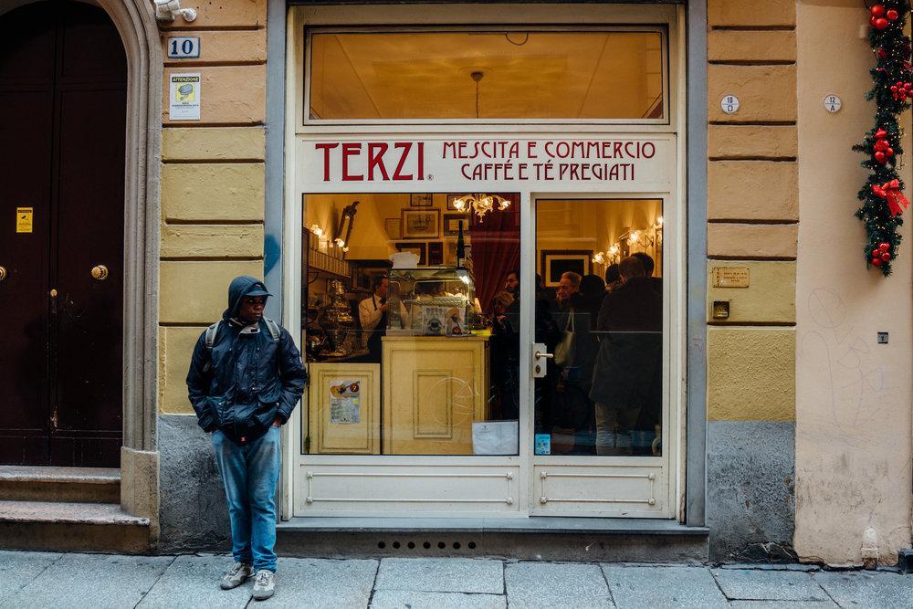 Caffè Terzi su Via Oberdan