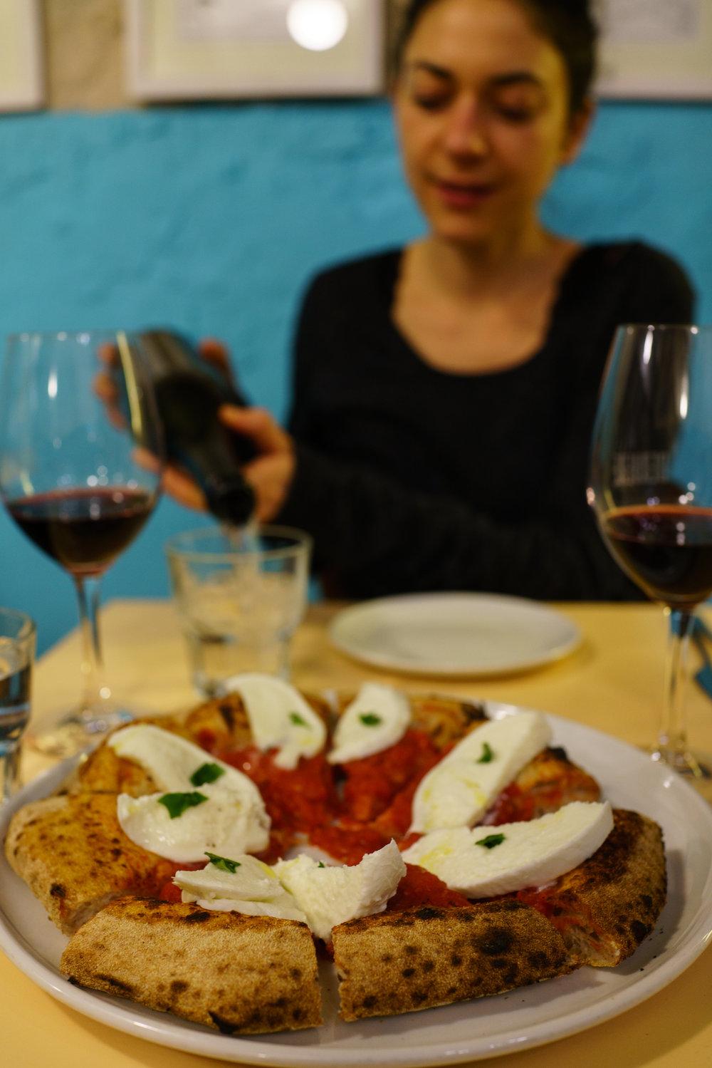 Pizza a Berberè per cena