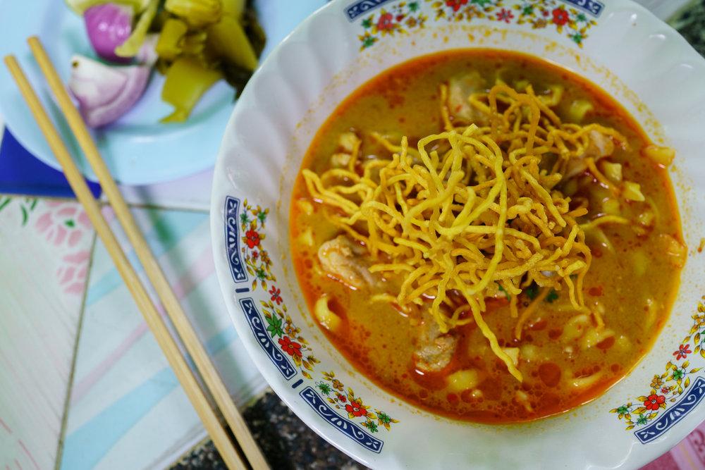 The  Khao Soi  at Khao Soi Khun Yai