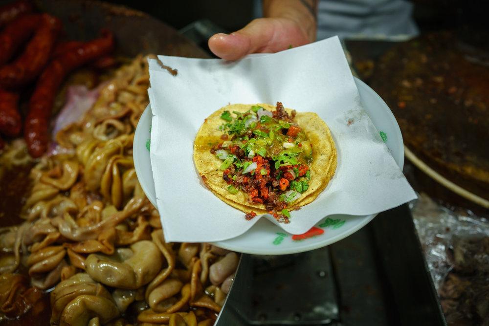 Campacheno  at Tacos Los Cocoyus