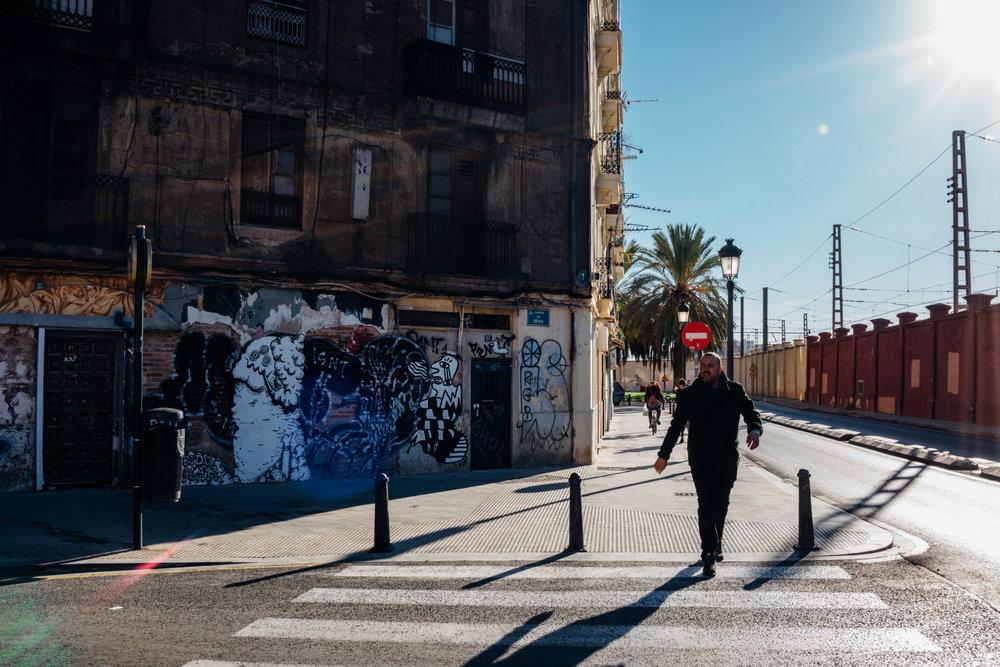 At the the edge of Valencia's Ruzafa neighborhood