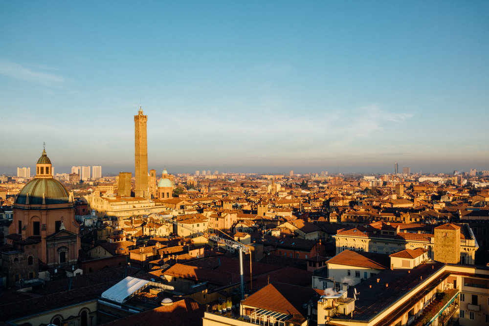 View from Basilica di San Petronio