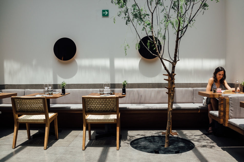 The new Pujol is a little dressed-down, airy and light-filled