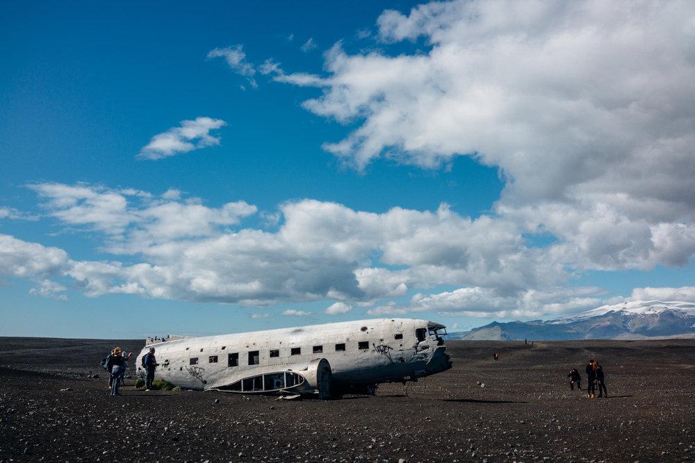 Wrecked DC-3 Plane on Sólheimasandur