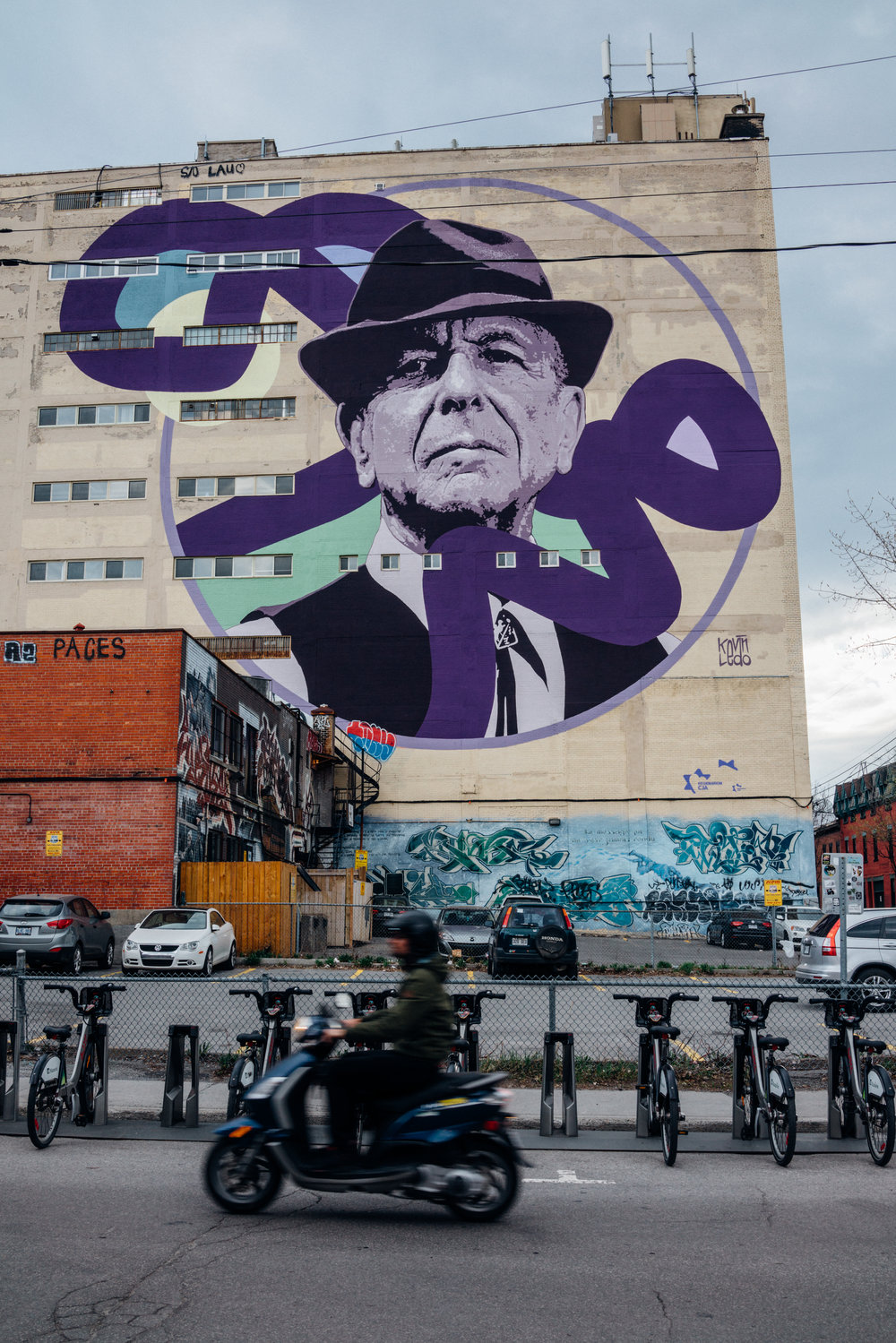 Respect for Leonard Cohen isn't the exclusive domicile of Canada, but the correlation is strong: we are, after all, in Montréal