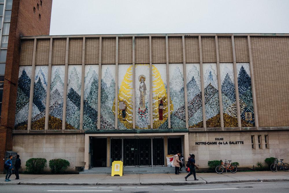 Église Notre-Dame-de-la-Salette  in Milton Park, Montréal